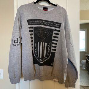 Men's diamond sweatshirt
